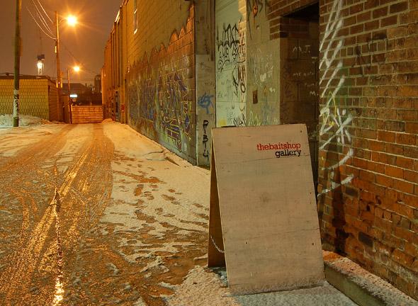 Baitshop Exterior