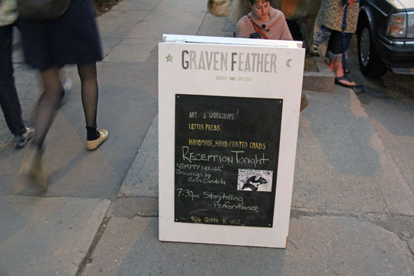 graven feather gallery queen west