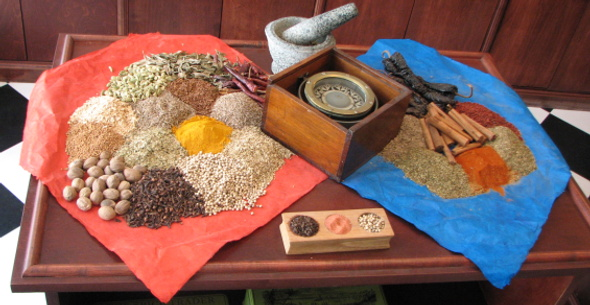 The Spice Trader Table