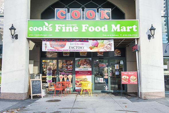 Cooks fine food mart