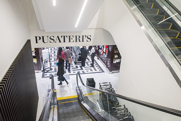 Pusateris Saks Food Hall Toronto Queen