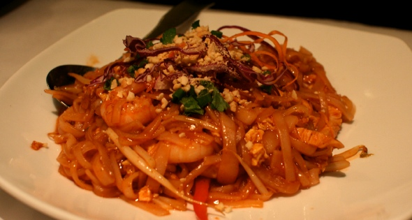 Lemongrass pad thai