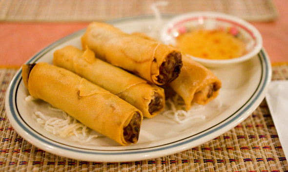 Home-made Spring Rolls
