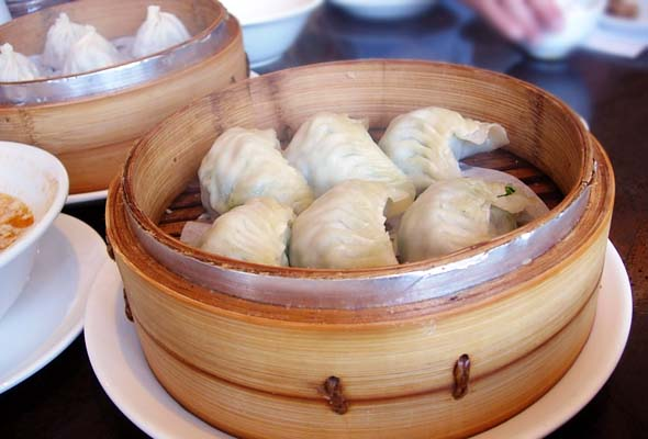 Asian Legend steamed pork dumplings