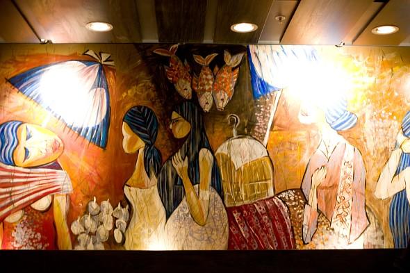 Restoran Malaysia mural