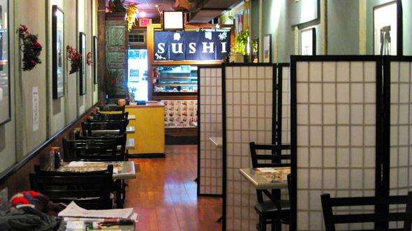 Lola Sushi Inside