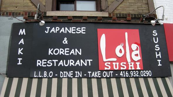 Lola Sushi Toronto