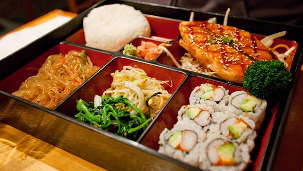 Salmon Bento Box #1