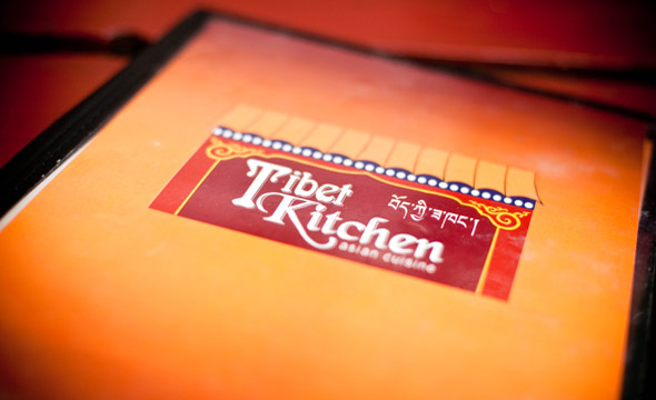 Tibet Kitchen Menu Cover
