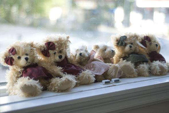 Cafe Princess teddy bears