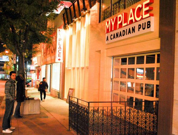 My Place - A Canadian Pub