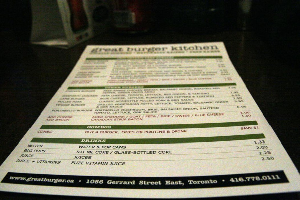 Great Burger Kitchen