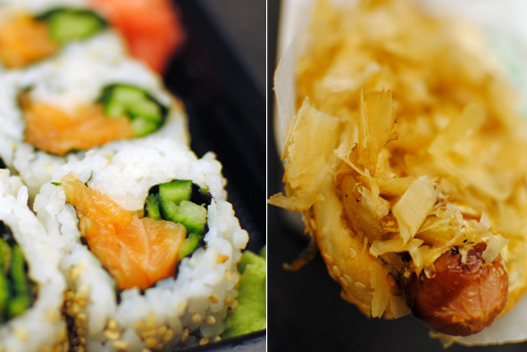 Umi Sushi Express sushi