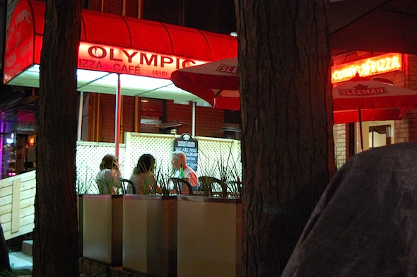 Olympic 76 pizza