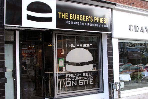 Burger's Priest Yonge Street