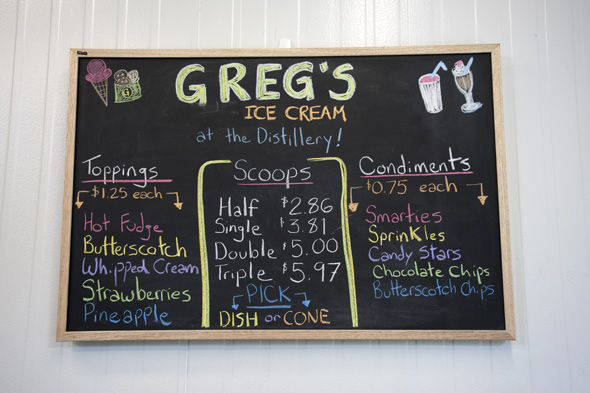 Greg's Ice Cream Distillery District