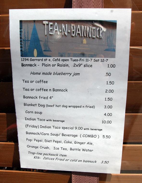 Tea and Bannock