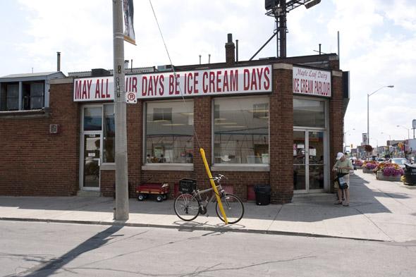 Maple Leaf Dairy Ice Cream