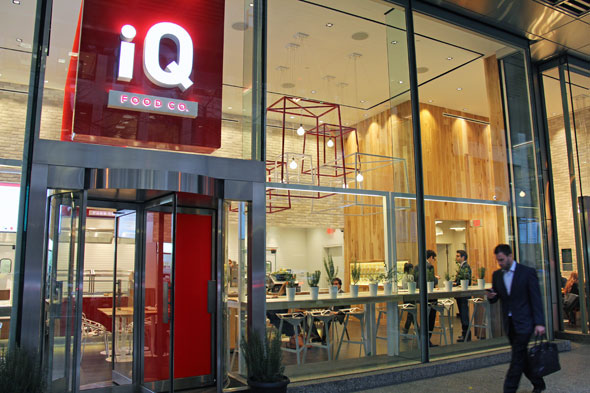 iq food co bay st toronto