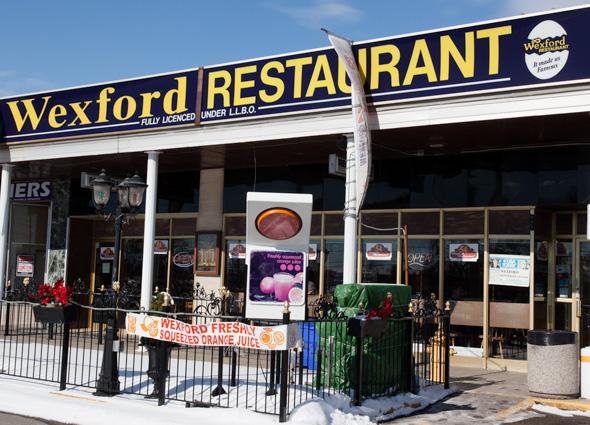 the wexford restaurant toronto
