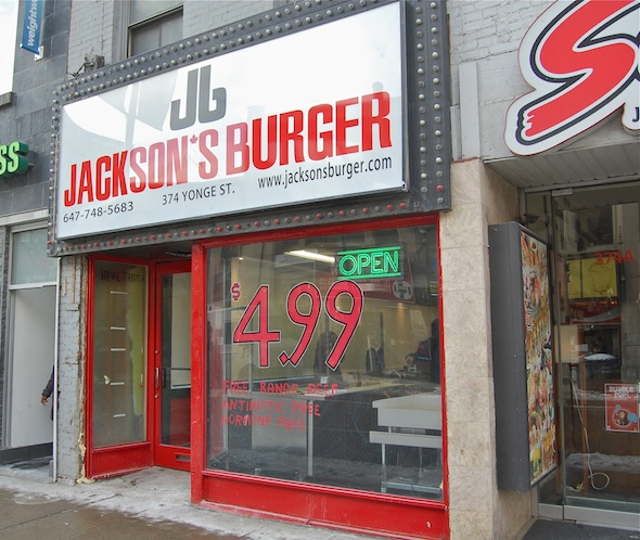 Jacksons Burger