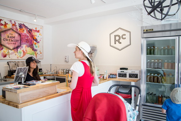 raw chemist juice bar