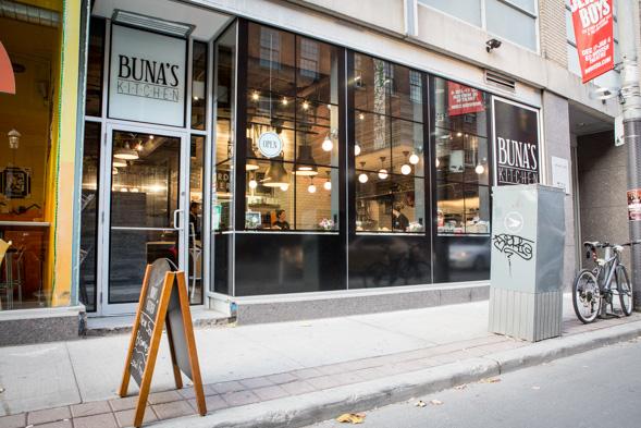 Bunas Kitchen Toronto