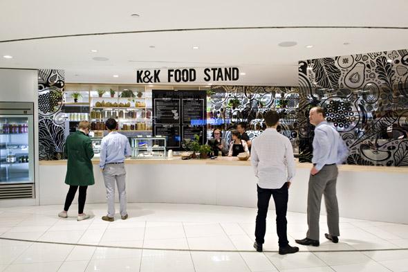 kk food stand toronto