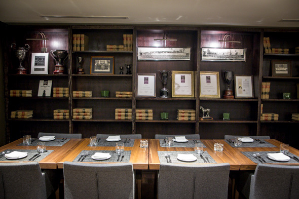 Jacobs co steakhouse blogto toronto for Best restaurants with private dining rooms toronto