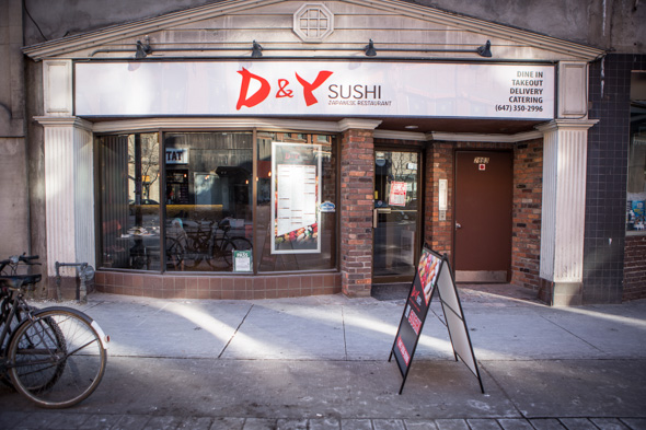d and y sushi toronto