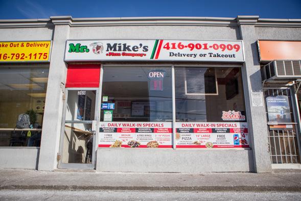 Mr Mikes Pizza Toronto