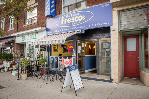 Frescos fish and chips