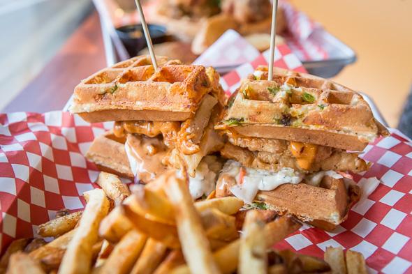 fried chicken sandwich toronto