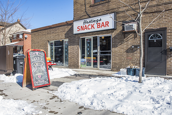 Hastings Snackbar Toronto