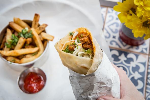 Bombay Street Food Menu Toronto