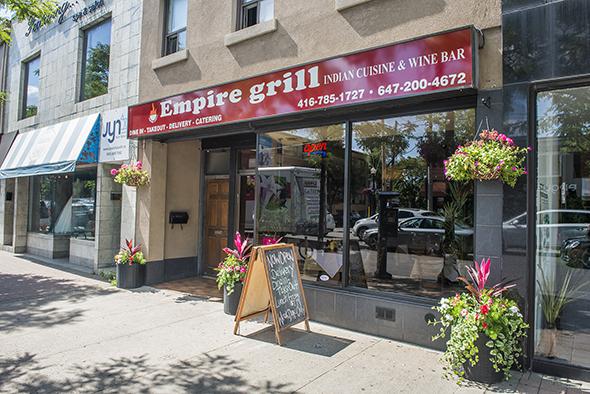 Empire Grill Toronto