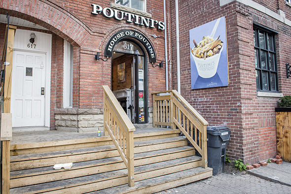 Poutinis King West Toronto