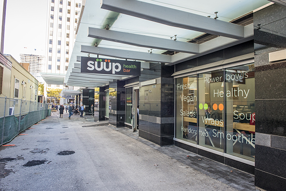 Suup Health Bar Toronto