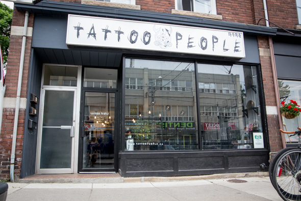 tattoo people toronto