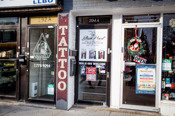 black pearl tattoos toronto