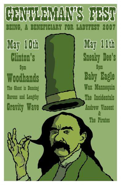Gentlemen's Fest poster