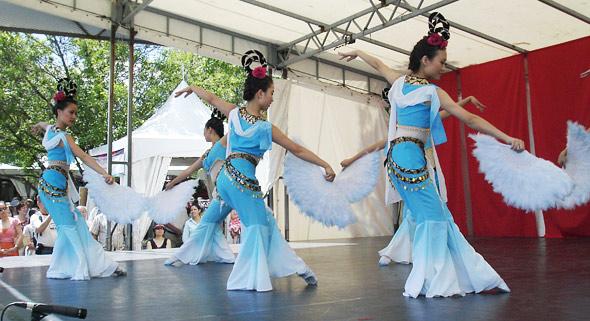 Traditional Fan Dance