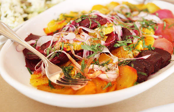 Roast Beet & Orange Salad