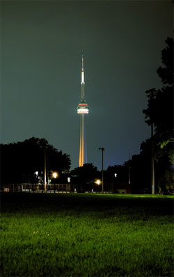 """night stick"" by blogTO flickr pool contributor jpjd"