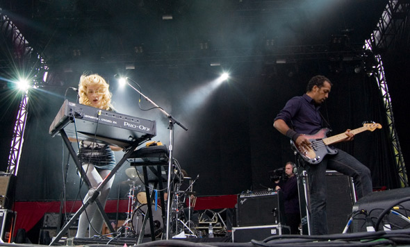 Virgin Fest Day 2, Metric, Photo by Ryan Couldrey