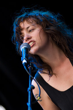 Virgin Fest Day 2, Stars' Amy Milan, Photo by Ryan Couldrey