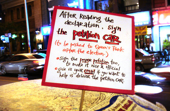 Car Petition