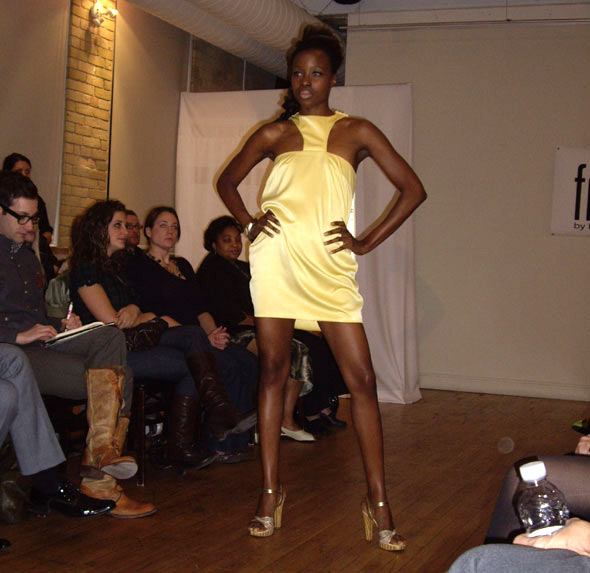 LFW Spring 2008 - Franke by Kendra Francis
