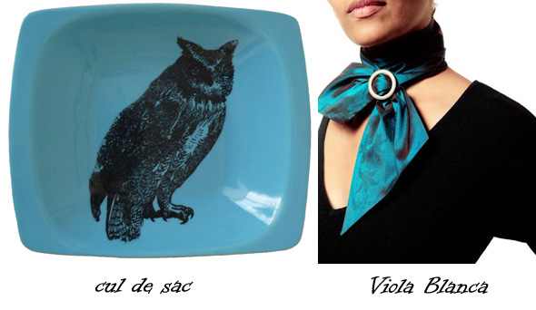 Cul de sac ceramics and Viola Blanca textile accessories