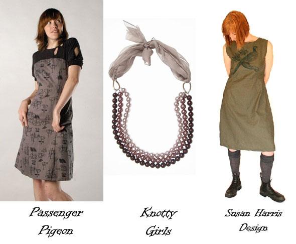 Passenger Pigeon, Knotty Girls and Susan Harris Design